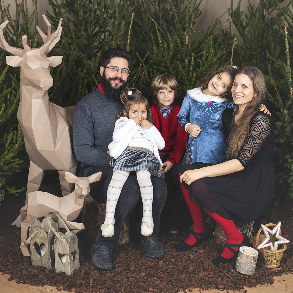 Foto di famiglia Natale
