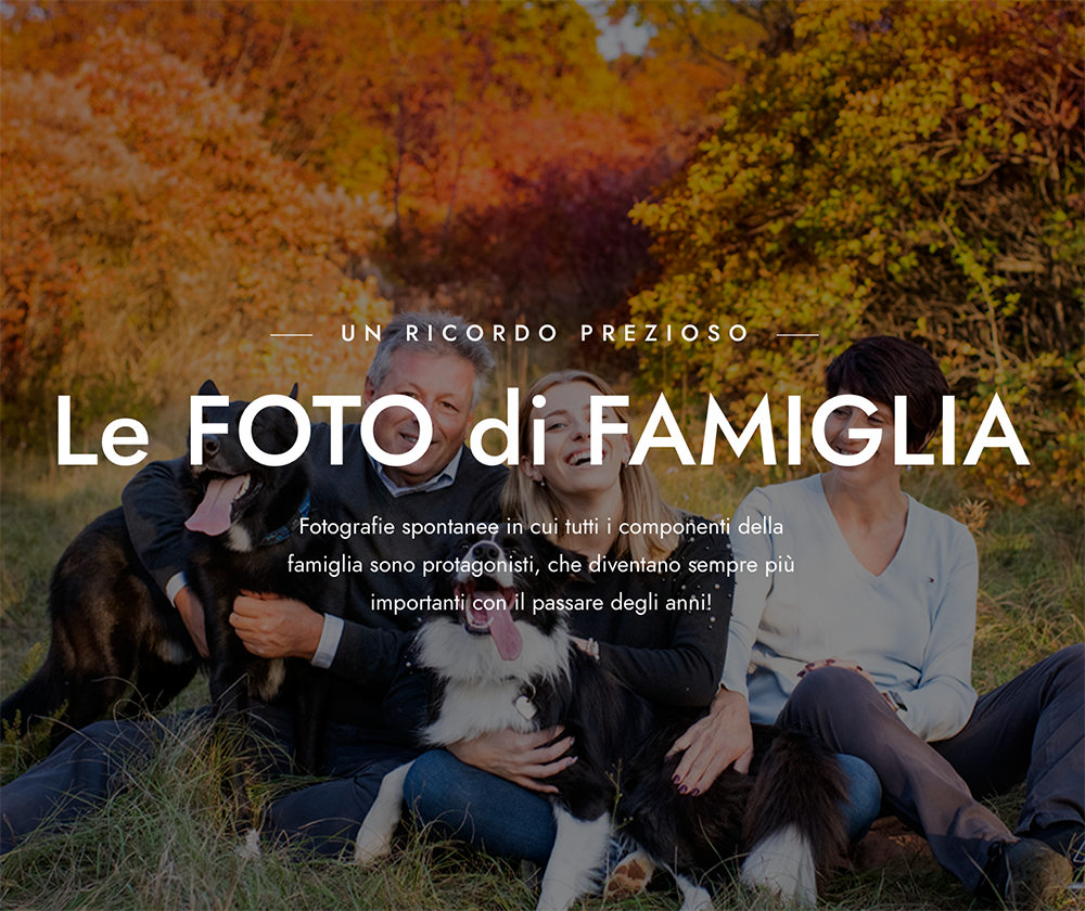 Pagina foto di famiglia